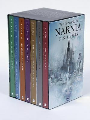 The Chronicles of Narnia Boxed Set, C. S. Lewis, New Book