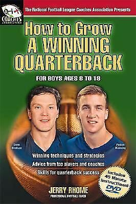 How to Grow a Winning Quarterback: For Boys Ages 8 to 18  Jerry Rhome