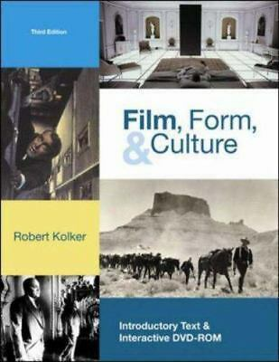 Film, Form, and Culture w/ DVD-ROM, Kolker, Robert, Good Book