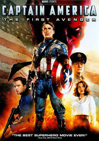 Captain America: The First Avenger, Good DVD, Bruno Ricci, Derek Luke, Neal McDo