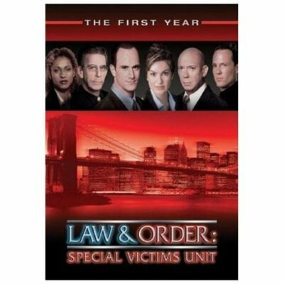 Law & Order Special Victims Unit - The First Year, Very Good DVD, Mariska Hargit