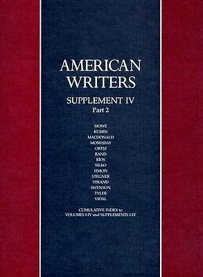 American Writers a Collection of Liter (American Writers: Supplement)  Litz, A