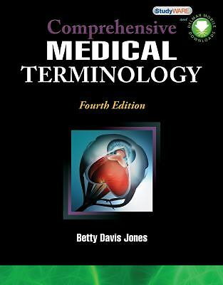 Comprehensive Medical Terminology, Jones, Betty Davis, New Book