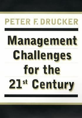 Management Challenges for the 21st Century,Drucker, Peter F.,  Acceptable  Book