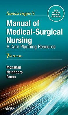 Manual of Medical-Surgical Nursing: A Care Planning Resource, 7e (Manual of Med