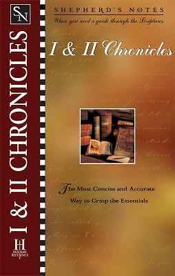 Shepherd's Notes: I & II Chronicles  Corduan, Winfried