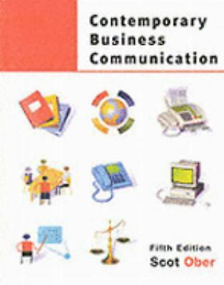 Contemporary Business Communication  Ober, Scot