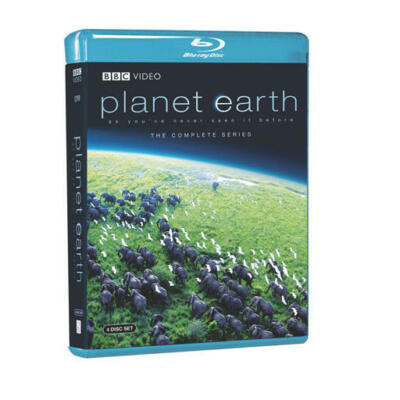 Planet Earth: The Complete BBC Series [Blu-ray], Good DVD, David Attenborough,