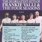 Frankie Valli & The Four Seasons: 20 Greatest Hits Live, The Four Seasons, Very