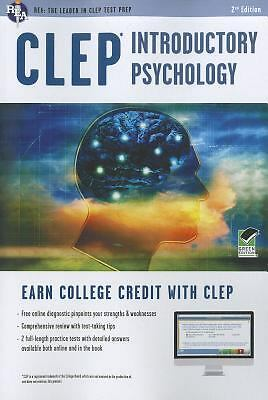 CLEP® Introductory Psychology Book + Online (CLEP Test Preparation) by Sharpste