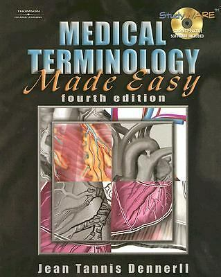 Medical Terminology Made Easy, Dennerll, Jean  M., Good Book