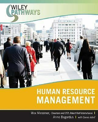 Wiley Pathways Human Resource Management,Bogardus, Anne M., Messmer, Max,  Accep