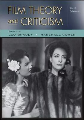 Film Theory and Criticism: Introductory Readings, , Good Book