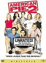 American Pie 2 DVD 2002 Unrated Version Widescreen Collector's Edition) Free S/H