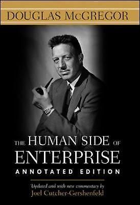 The Human Side of Enterprise, Annotated Edition, McGregor, Douglas, Acceptable B