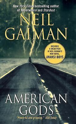 American Gods: The Tenth Anniversary Edition: A Novel - Neil Gaiman - Good Condi