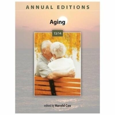 Annual Editions: Aging 13/14, Cox, Harold, Acceptable Book