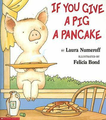 If You Give a Pig a Pancake, Numeroff, Laura Joffe, Acceptable Book