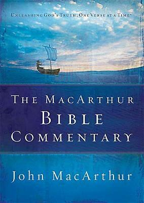 The MacArthur Bible Commentary by John MacArthur
