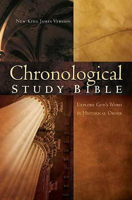 The Chronological Study Bible: New King James Version, Thomas Nelson, Good Book