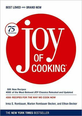 Joy of Cooking: 75th Anniversary Edition - 2006, Irma S. Rombauer, Marion Rombau
