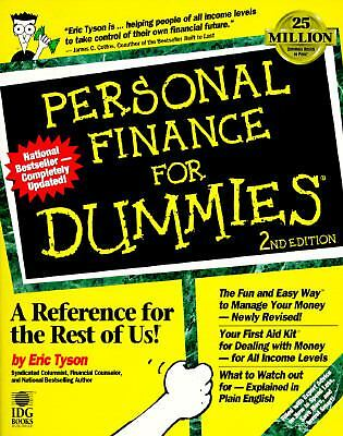 Personal Finance For Dummies, Tyson, Eric, Good Book