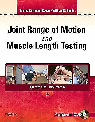 Joint Range of Motion and Muscle Length Testing, 2e, Reese PhD  PT, Nancy Berrym