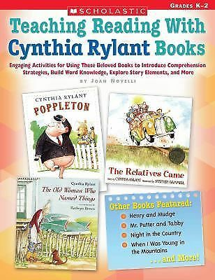 Teaching Reading With Cynthia Rylant Books: Engaging Activities for Using These