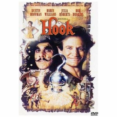 Hook by Dustin Hoffman, Robin Williams, Julia Roberts, Bob Hoskins, Maggie Smit