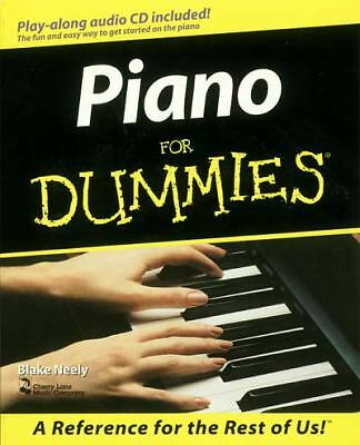 Piano For Dummies (For Dummies (Computer/Tech)), Neely, Blake, Good Book