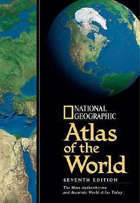 National Geographic Atlas Of The World 7th Edition, National Geographic Society,