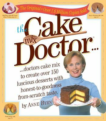 The Cake Mix Doctor - Anne Byrn - Good Condition