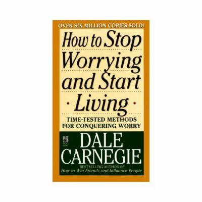 How to Stop Worrying and Start Living, Carnegie, Dale, Acceptable Book