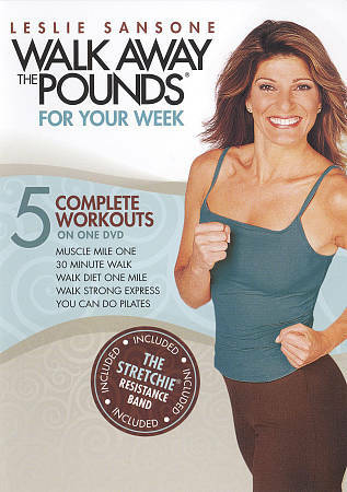 Leslie Sansone: Walk Away the Pounds - For Your Week, Very Good DVD, ,