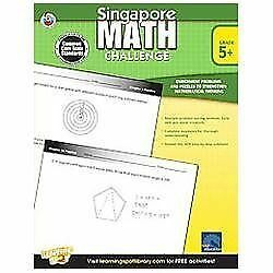 Singapore Math Challenge, Grades 5 - 8, , Good Book