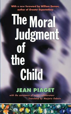The Moral Judgment of the Child, Piaget, Jean, Acceptable Book