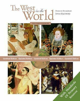 The West in the World, Updated Edition with Primary Source Investigator and Powe