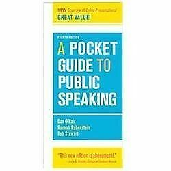 A Pocket Guide to Public Speaking by O'Hair, Dan, Rubenstein, Hannah, Stewart,