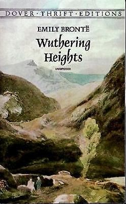Wuthering Heights (Dover Thrift Editions), Emily Brontë, Good, Books