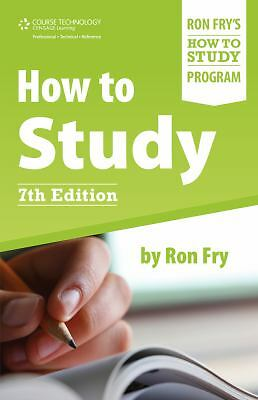 How to Study, Fry, Ron, Good, Books