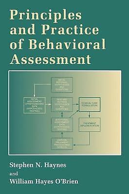 Principles and Practice of Behavioral Assessment (Applied Clinical Psychology),