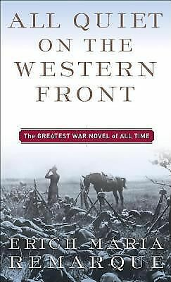 All Quiet on the Western Front, Erich Maria Remarque, Acceptable Book