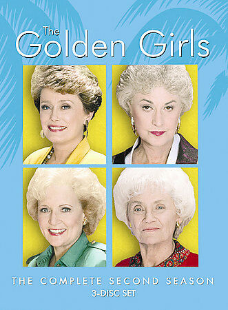 The Golden Girls - The Complete Second Season by Betty White
