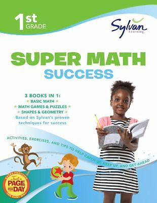 First Grade Super Math Success (Sylvan Super Workbooks) (Math Super Workbooks),