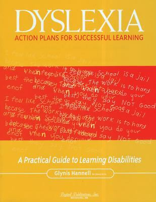 Dyslexia Action Plans for Successful Learning, Hannell, Glynis, Good Book