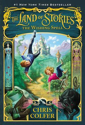 The Land of Stories: The Wishing Spell, Colfer, Chris, Good Book