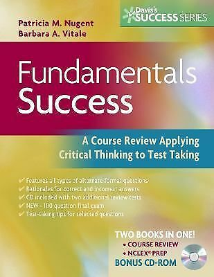 Fundamentals Success: A Course Review Applying Critical Thinking to Test Taking,
