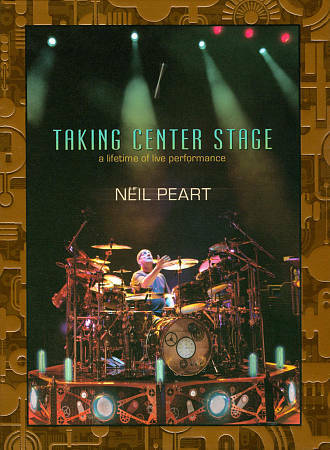Neil Peart Taking Center Stage: Lifetime of Live Performances, Very Good DVD, Ne