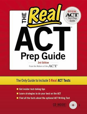 The Real ACT (CD) 3rd Edition (Real Act Prep Guide),ACT, Inc.,  Acceptable  Book
