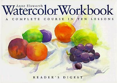 Watercolor Workbook, Elsworth, Anne, Good Book